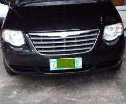 2006 Chrysler Town and Country Black Van For Sale