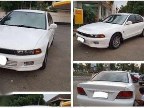 Mitsubishi Galant 2000 AT White Sedan For Sale