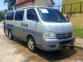 Nissan Urvan Estate 2004 3.0 Di MT Silver For Sale