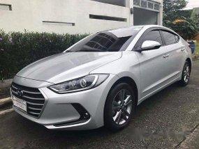 Hyundai Elantra 2016 silver for sale