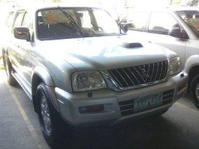 Mitsubishi Strada 2004 silver for sale