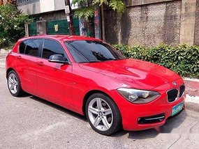 BMW 118d 2013 red for sale