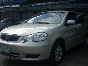 2001 Toyota Corolla Altis E Auto Beige for sale
