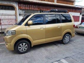 2008 Suzuki APV  Van gold for sale