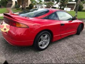1996 Mitsubishi Eclipse AT Red Coupe For Sale