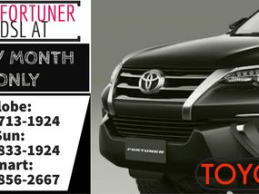 Call Now: 09258331924 Casa Sale 2019 Brand New Toyota Fortuner V DSL AT 37k Lowest Monthly