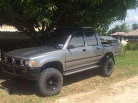 Toyota Hilux 1998 4x4 MT Grey For Sale