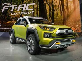Behold Toyota FT-AC concept at Los Angeles Auto Show