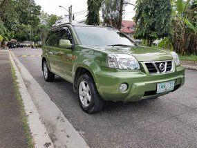 Nissan X-Trail 2004 Green for sale
