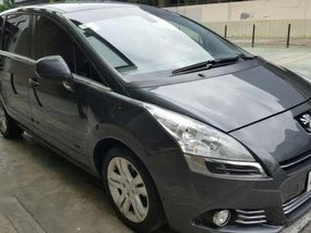 2013 Peugeot 5008 Dsl AT Gray SUV For Sale