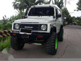 1998 Suzuki Samurai white for sale