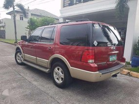 Ford Expedition 4x4 2006 AT Red For Sale