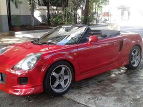 2000 RED Toyota Mrs for sale
