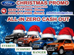 FORD EVEREST PROMO for sale