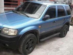 Ford Escape manual 2002 model for sale