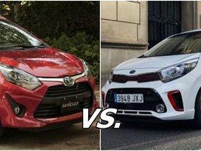 Toyota Wigo vs. Kia Picanto: Specs comparison