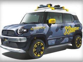 Modified Suzuki Swift Sport 2018 & Suzuki XBEE to display at 2018 Tokyo Auto Salon