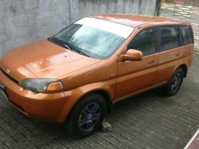 Honda Hrv 1999 Manual Gas for sale