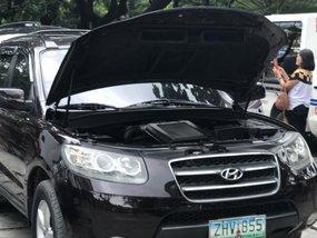 Hyundai Santa Fe 2007 AT Black SUV For Sale