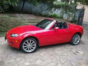 Mazda Mx-5 red 2008 for sale