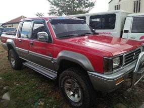 1997 Mitsubishi Strada 4X4 Manual Transmission for sale