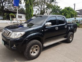 2009 Toyota Hilux G MT Blue Pickup For Sale