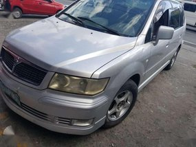 Mitsubishi Grandis 2002 AT Silver SUV For Sale