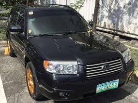 Subaru Forester 2006 4WD SUV AT Black For Sale