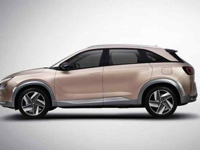 Hydrogen-electric Hyundai crossover unveiled ahead of debut