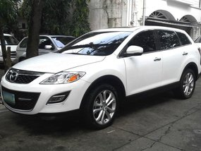 Mazda Cx-9 2011 AT White SUV For Sale