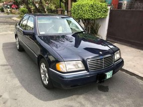 1995 MERCEDES-BENZ C280 black FOR SALE