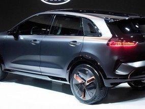 Kia Niro EV Concept previewed at 2018 CES