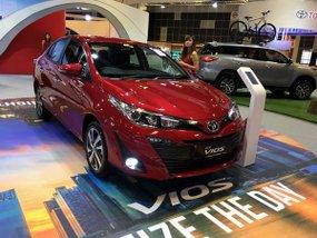 Toyota Vios 2018 showcased in Singapore