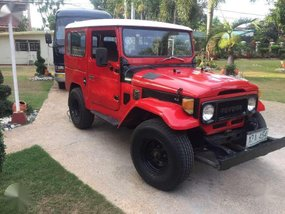 1974 Toyota Land Cruiser BJ40 Red For Sale