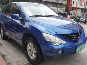 2009 Ssangyong Actyon 2.3L gas FOR SALE