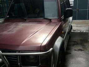 1997 Hyundai Galloper Exceed AT Red SUV For Sale