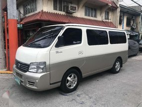2007 Nissan Urvan Estate 3.0 diesel engine FOR SALE