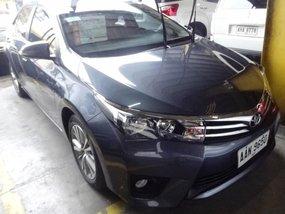 Toyota Corolla 2014 Gasoline Manual Blue for sale