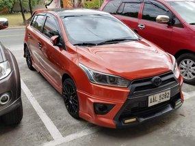 TOYOTA YARIS G 1.5 MT Orange HB For Sale