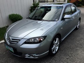 Mazda 3 S Top of the Line 2007 Gray Sedan For Sale