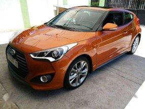 Hyundai Veloster 2016 Automatic Orange For Sale