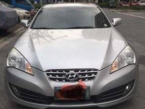 Hyundai Genesis Coupe 3.0 2009 AT Silver For Sale