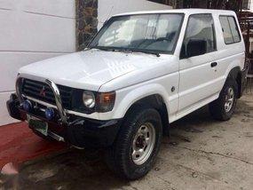 Mitsubishi Pajero 3dr 4x4 Diesel White For Sale