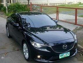 2013 Mazda 6 Skyactiv 2.5 AT Black For Sale