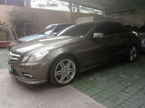 Mercedes Benz E350 COUPE 2010 for sale