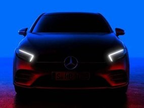 Mercedes-Benz A-Class 2018 teased, showing far sharper look