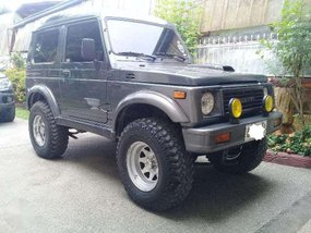 2001 Suzuki Jimny 4x4 MT Gray SUV For Sale