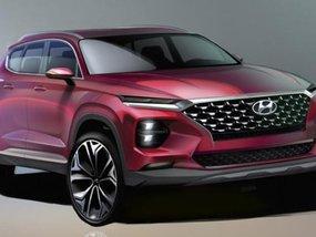 Sketches of the sharper looking Hyundai Santa Fe 2019 unveiled
