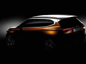 Kia SP Crossover Concept teased for Indian market