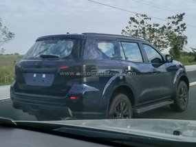 """""""Pickup-based"""" SUV Nissan Terra 2018 spotted on Philippine roads"""